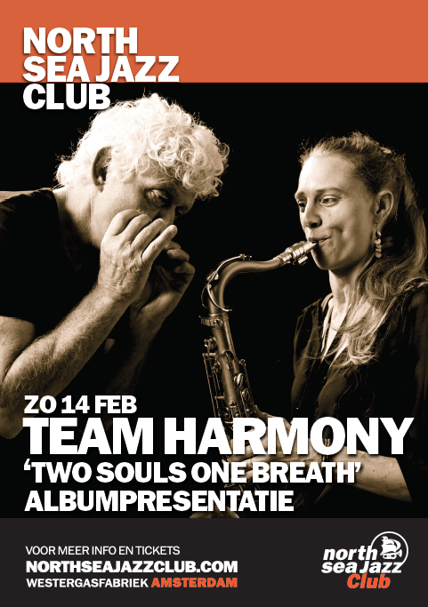 E-Flyer Team Harmony @ North Sea Jazz Club